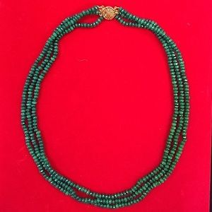 Jewelry - ❤️alentine's Day 🎁! Natural Emerald Necklace.